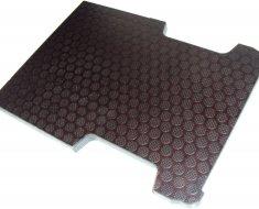 Anti-slip vloer zonder bindgaten