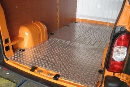 Aluminium traanplaat vloer