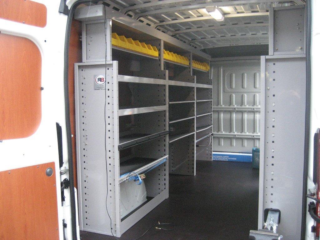 Professionele bestelwagen inrichting – wat u moet onthouden