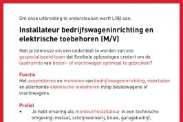 Vacature LRB